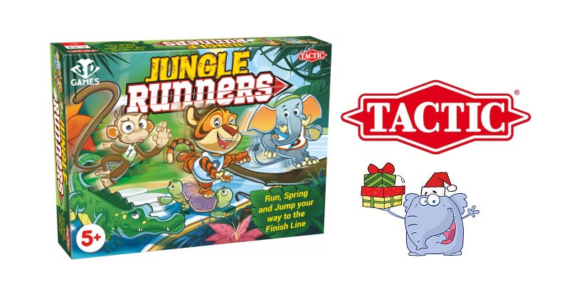 Jungle Runners family board game