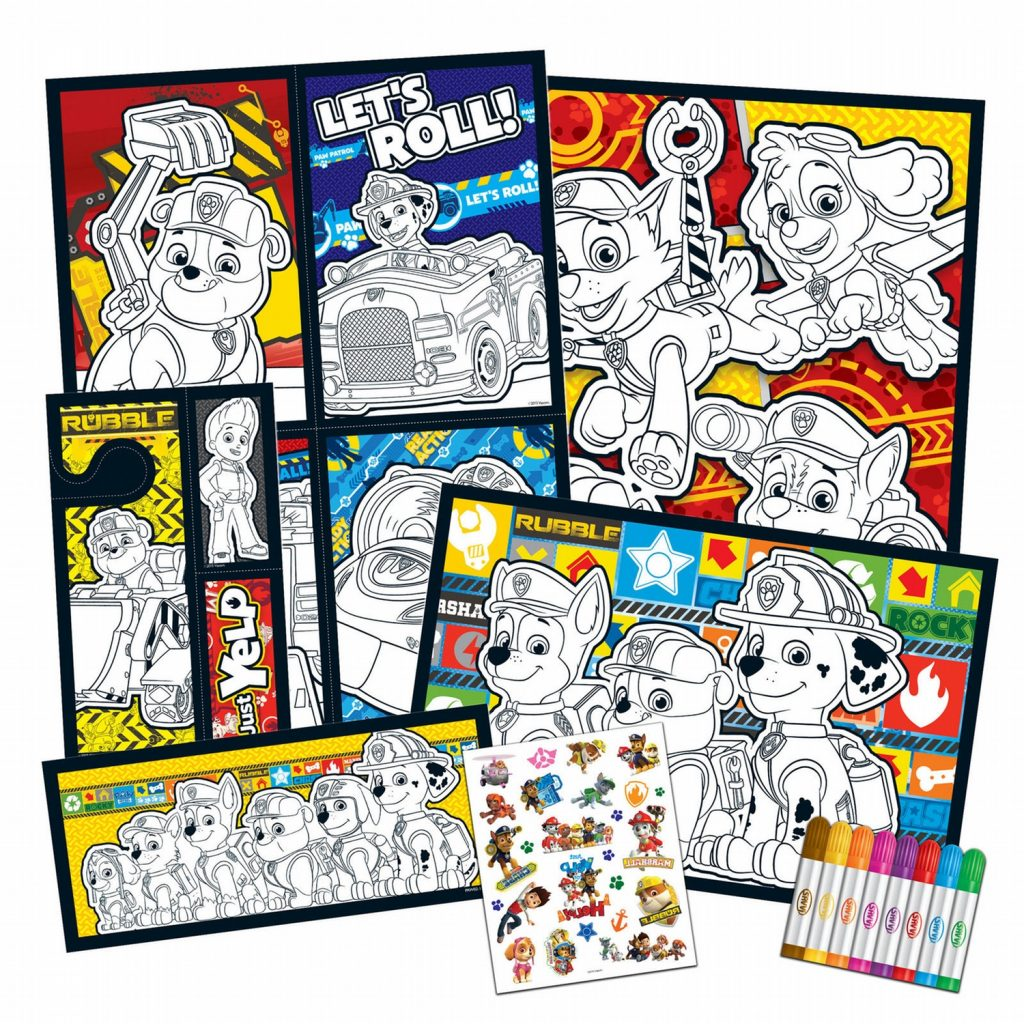 Savvi Paw Patrol ColorUp Activity Kit