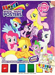 Magic paint posters