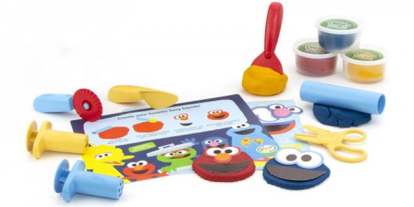 Elmo & Friends Dough Activity Set