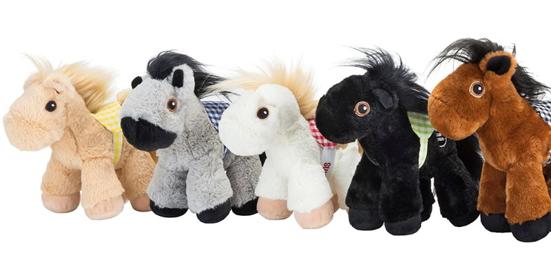 Piccoli plush horse