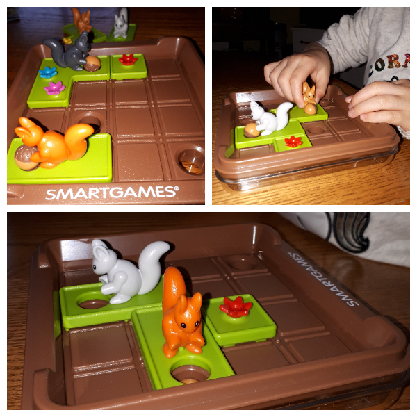 SmartGames Squirrels Go Nuts!