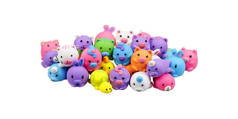 JigglyDoos jiggly miniature squishy characters