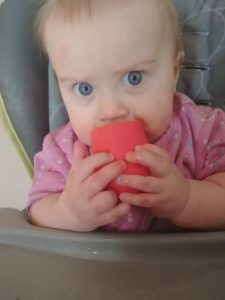 ezpz tiny cup and bowl baby led weaning