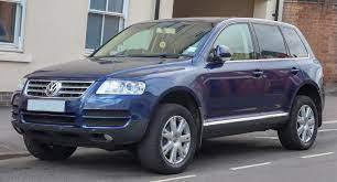 Volkswagen 2005 touareg blue