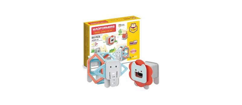 Magformers Animal Jumble set