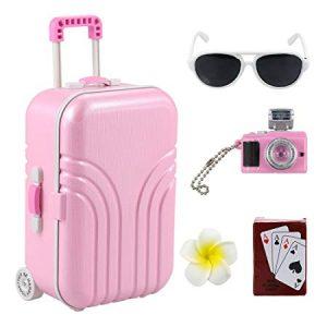 Barwa Travel Set Suitcase Pink