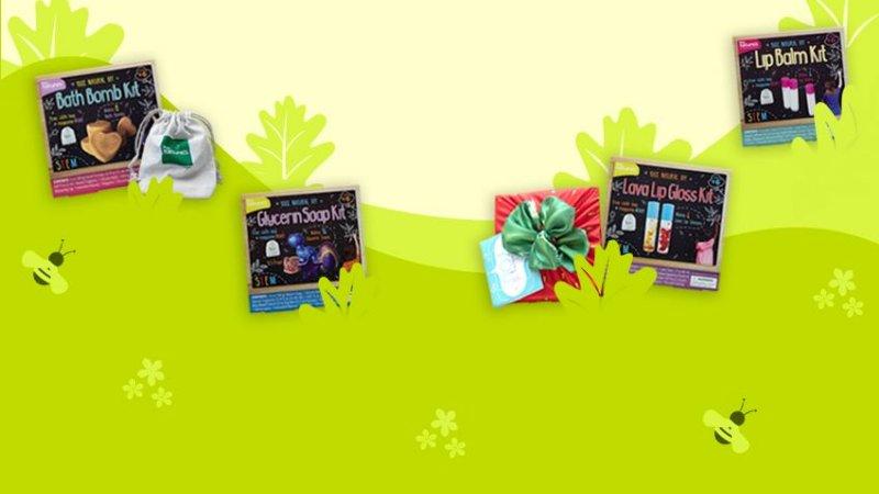 Kiss Naturals DIY kits Giveaway