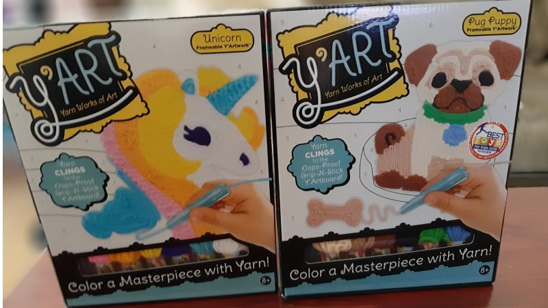 Y'art Craft Kit from Kahootz Toys- Giveaway
