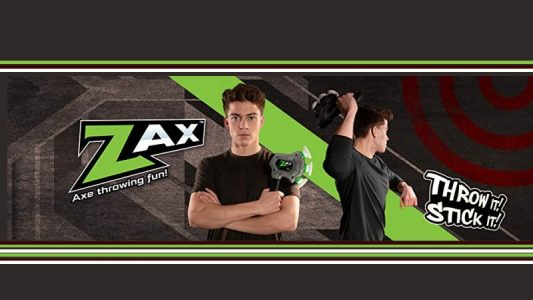 Zax Throwing Axe fun from Zing Toys