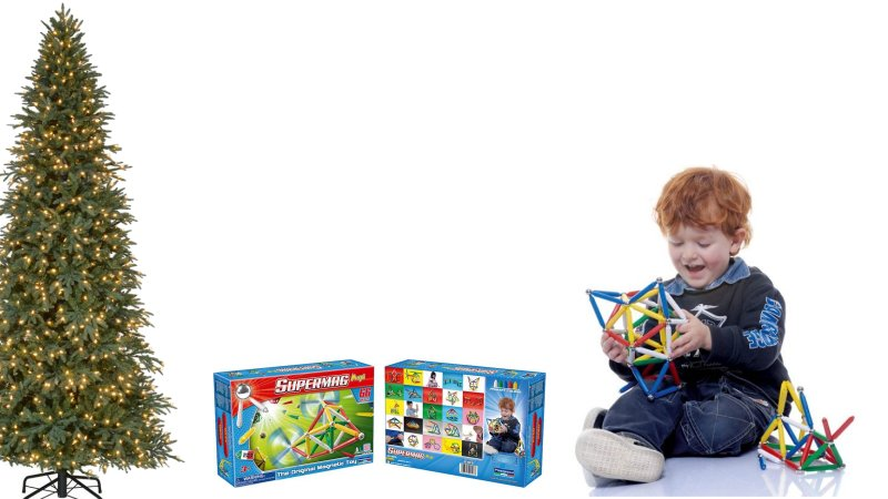 Supermag Magnetic Construction Sets