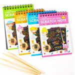 aGreatLife Scratch Paper Rainbow  Notebooks