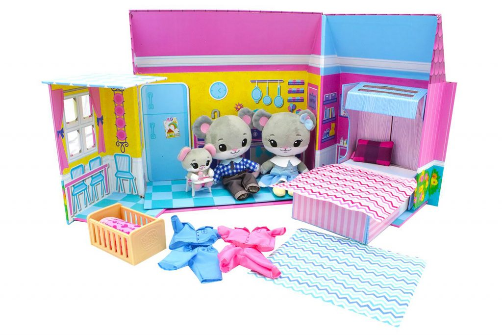 Tiny Tukkins Plush Play House Play Set