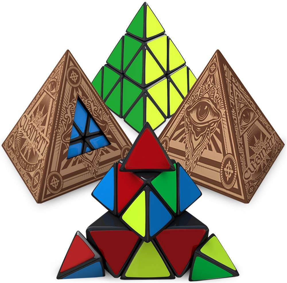 Ultimate Triangle Puzzle Toy for Kids & Adults