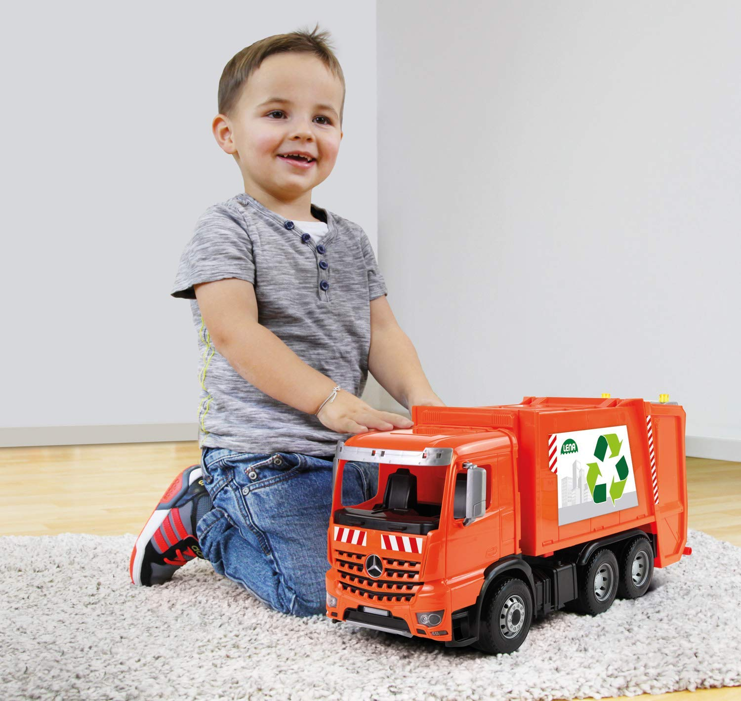 Lena Toy Garbage Truck