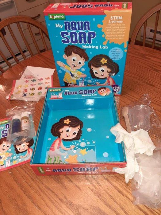 Aqua Soap Making