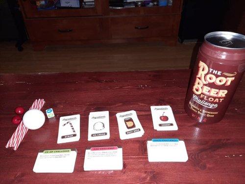 Root Beer Float Challenge Game