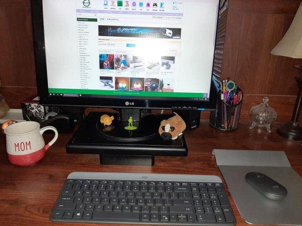 Mouse Pad USB HUB