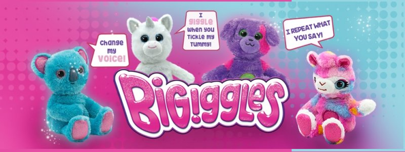BIGiggles Talking Plush- hottest toy of the year