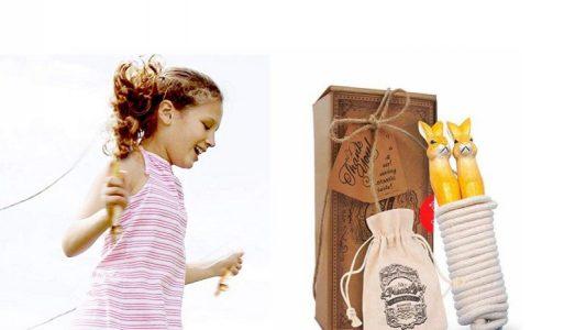 aGreatLife Adjustable Jump Rope for Kids