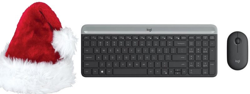 Logitech MK470 Slim Wireless Keyboard and Mouse