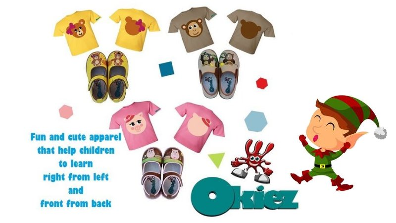 OKIEZ children's apparel for every day learning