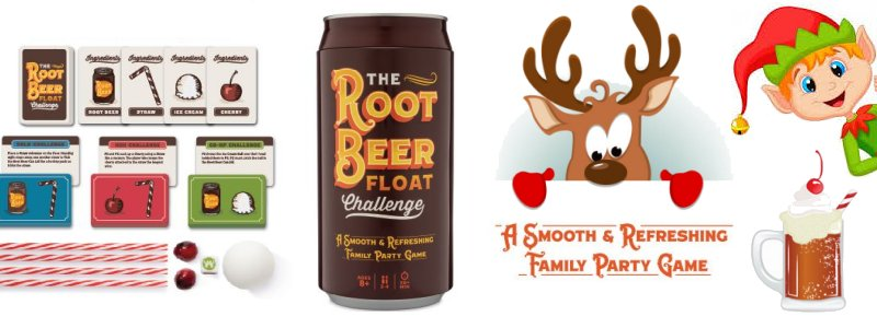 Root Beer Float Challenge Game
