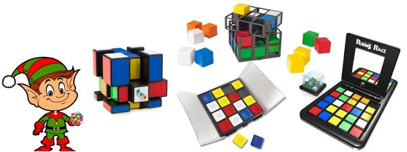 Rubik's Cube Games – brain teaser gifts