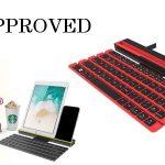 Foldable Stick Bluetooth Keyboard