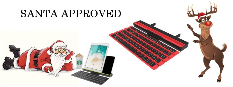 Foldable Stick Bluetooth Keyboard