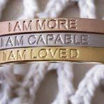 Positive I Am Affirmation Jewelry