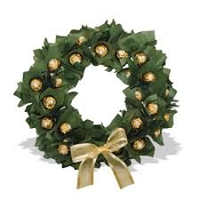 Ferrero Rocher wreath