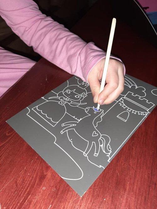scratch coloring book