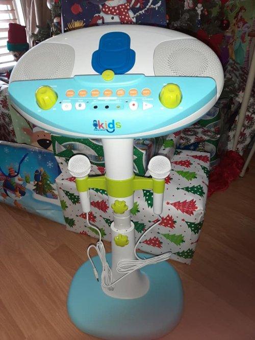 Singing Machine Kid's Pedestal Karaoke System