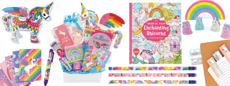 Ooly unicorn themed products