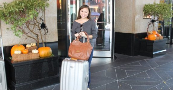 Tips for Successfully Living Out of a Suitcase