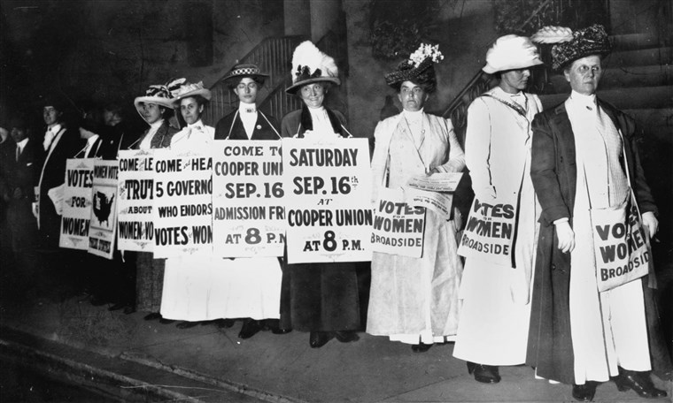 A Look Back on the Women's Suffrage Movement and Its Impact