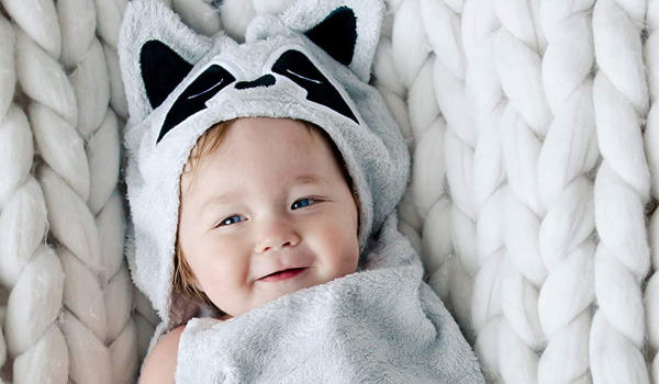 The best baby bath towels and washcloths