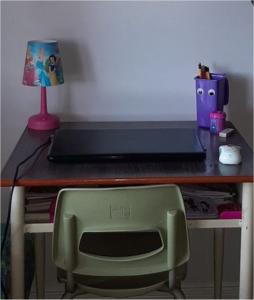 student work area