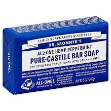 Dr. Bronner's bath soap