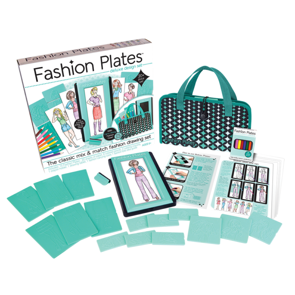 Fashion Plates Deluxe Kit from Playmonster