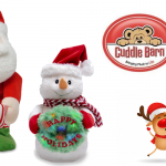 Cuddle Barn Animated Christmas Musical Plush