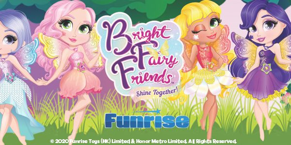 BFF Bright Fairy Friends Dolls from Funrise