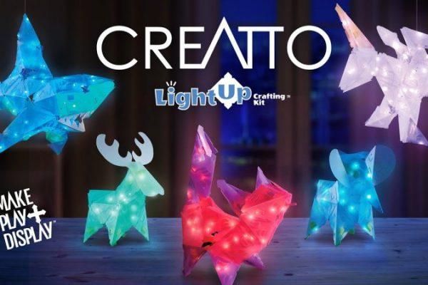 Creatto Starlight Kitty & Cutie Crew Light-Up Craft Puzzle