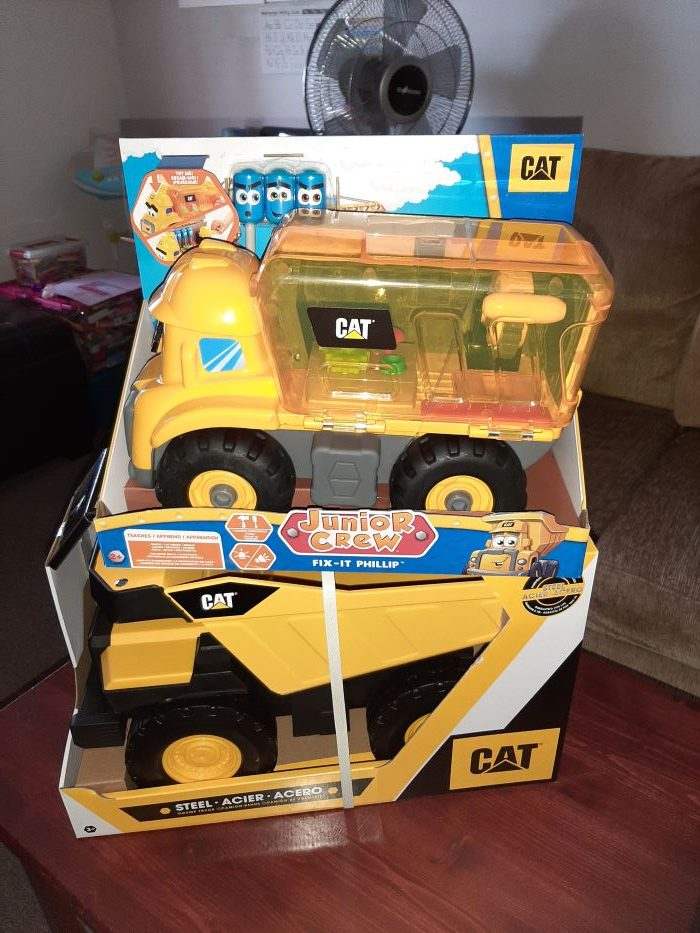 CAT Junior Crew Fix-It-Phillip Vehicle