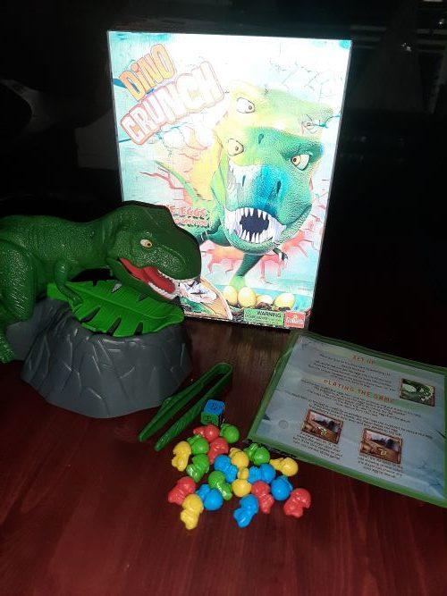 Dino Crunch Game