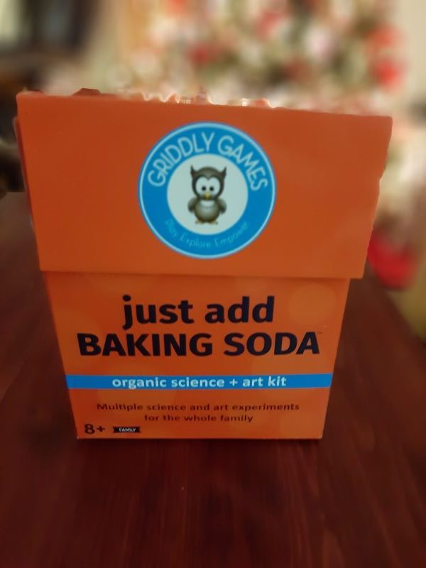 Just Add Baking Soda Organic Science + Art Kit from Griddly Games