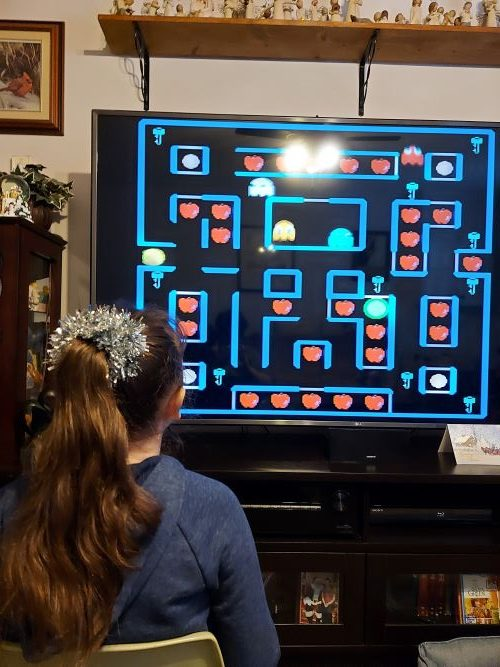Pac-Man Connect and Play-12 Classic Games