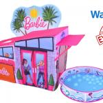 Barbie Dreamhouse Pop Up Tent