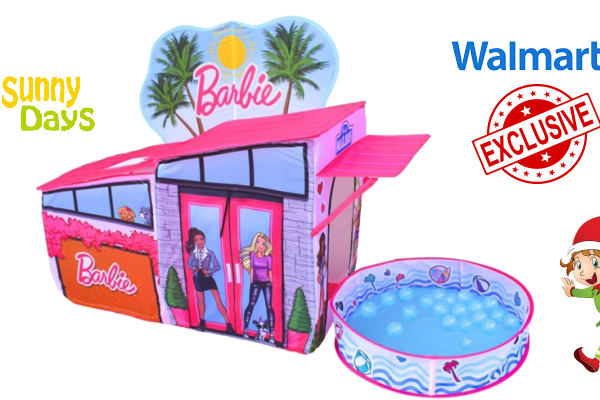 Barbie Dreamhouse Pop Up Tent